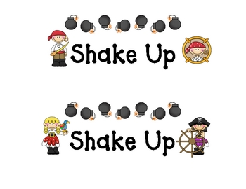 Pirate Shake Up