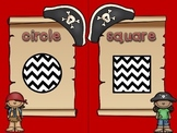 Pirate Shapes Posters