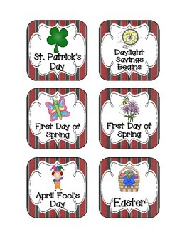 Pirate Ship Holiday Calendar Pieces