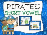 Pirate Short Vowel Task Cards