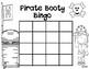 Pirate Sight Word Bingo