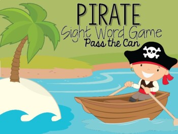 Pirate Sight Word Card Game