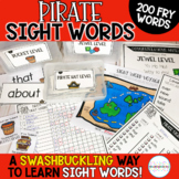 Pirate Sight Word Program- Fry List