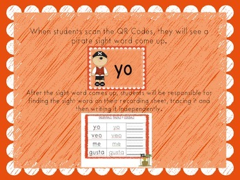 Pirate Sight Words