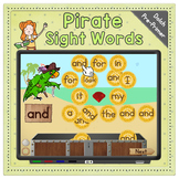 Pirate Sight Words Game   Collect the Coins   Tablets & Interactive Whiteboards