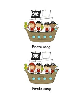 Pirate Song Emergent Reader