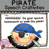 Pirate Speech Therapy Craft {all sounds year 'round}