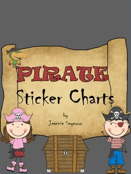 Pirate Sticker Charts