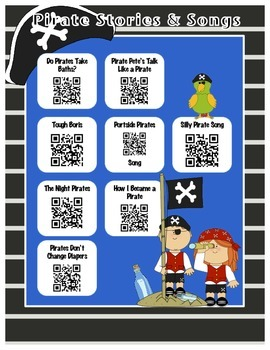 Pirate Stories and Songs QR
