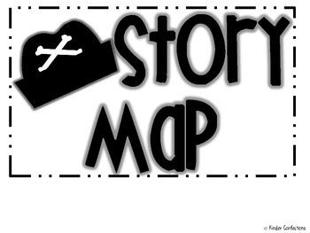 Pirate Story Map {FREEBIE}