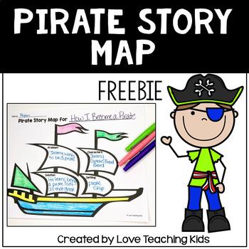 Pirate Story Map (Freebie)