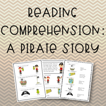 A Pirate Story: Reading & Vocabulary
