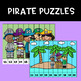 Pirate Strip Puzzles - Teen Numbers - Freebie