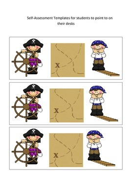 Pirate Student Self-Assessment Poster