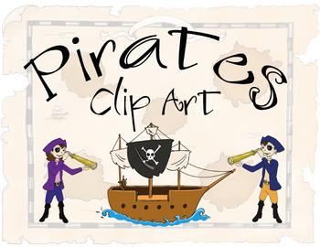 Pirate Style Clip Art