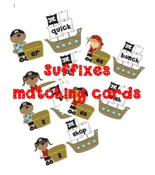 Pirate Suffixes Matching