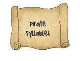 Pirate Syllable Sort