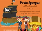 Pirate Synonyms Game for Speech Therapy