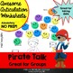 Pirate Talk Awesome Articulation Worksheets 1280 Words!