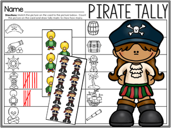 Pirate Tally Marks