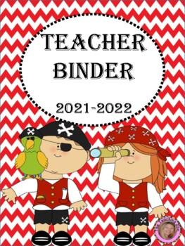 Pirate Teacher Binder {FREE yearly updates!}