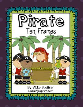 Pirate Ten Frame Game