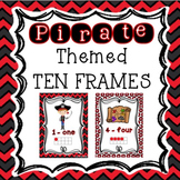 Pirates Classroom Theme - Ten Frame Posters