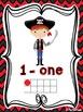 Pirates Classroom Theme - Ten Frame Posters