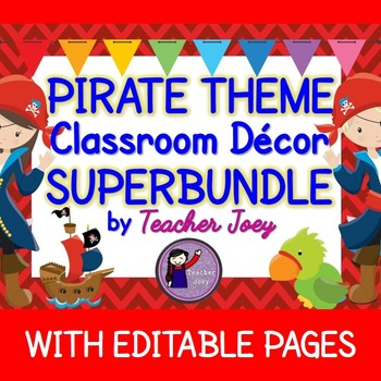 Pirate Theme Classroom Decor
