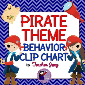 Pirate Theme Behavior Chart