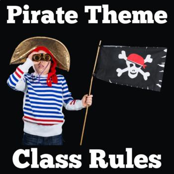 Pirates Theme Class Rules   Pirates Theme Classroom Rules
