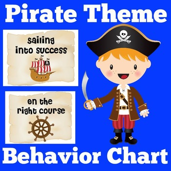 Pirates Theme Clip Chart | Pirate Themed Classroom | Pirate Theme Decorations