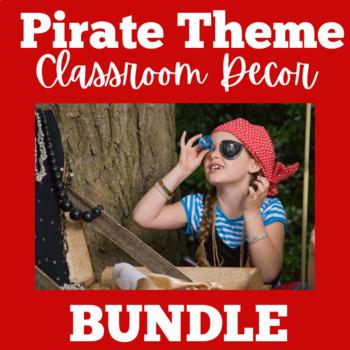 Pirate Theme BUNDLE | Pirate Themed Classrooom | Pirates Theme