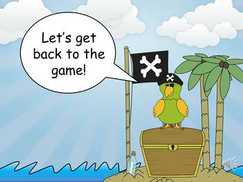 Pirate Theme Addition to Sums of 20 MOVE IT!