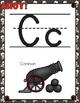 Pirate Theme - Alphabet Posters - Classroom Decor