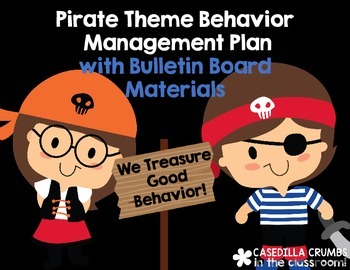 Pirate Theme Behavior Management Plan Contract and Bulletin Board Materials