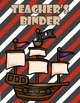 Pirate Theme - Binder Covers and Spines