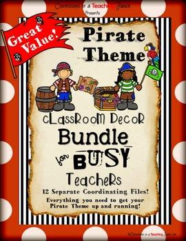 Pirate Theme Classroom Bundle