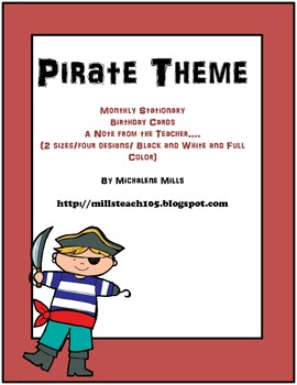 Pirate Theme Classroom Communication