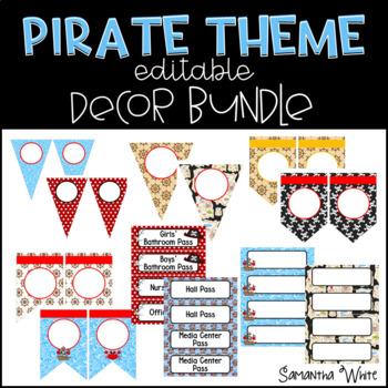 Pirate Theme Classroom Decor