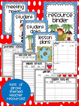 Pirate Theme Classroom {Decor, Classroom Management, & Resources}