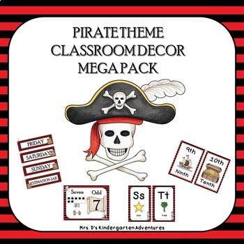 Pirate Theme Classroom Decor Mega Pack