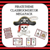 Pirate Theme Classroom Decor Mega Pack with Sound Wall