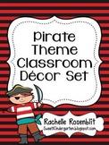 Pirate Theme Classroom Decor Set