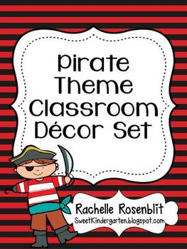 Pirate Theme Classroom Decor Set