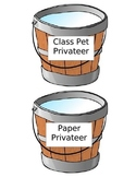 Pirate Theme Classroom Job Buckets