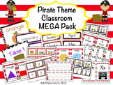 Pirate Classroom Theme MEGA Bundle (editable)