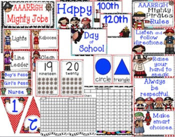Pirate Theme Classroom Pack-All Decor