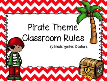 Pirate Theme Classroom Rules