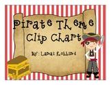 Pirate Theme Clip Chart